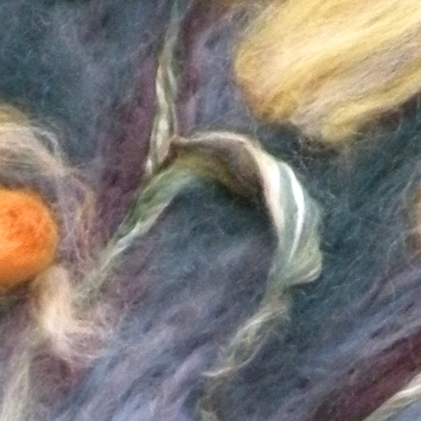 The Creation of a Needle Felted Painting